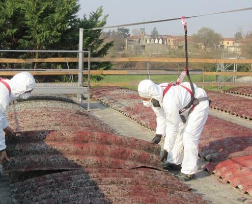 bonifica coperture in cemento amianto